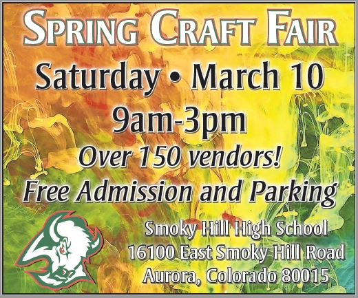 2018 SHHS Spring Craft Fair