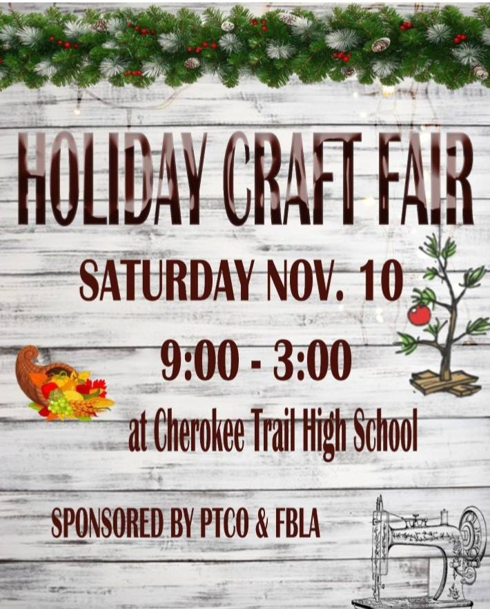 Cherokee Trail Craft Fair 2018