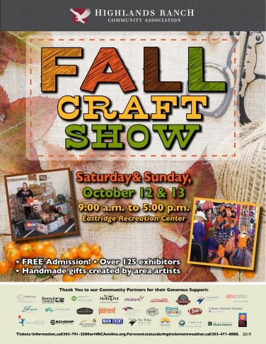2019 Fall Craft Show web
